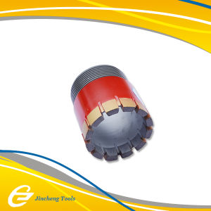 Nq Tnw Impregnated Diamond Drill Bit, Semi-Round Bit, for Soft Rocks