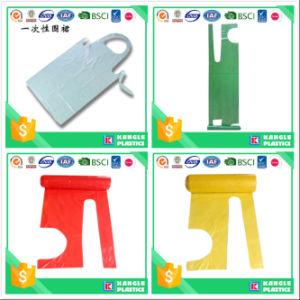 PE Disposable Plastic Cooking Apron pictures & photos