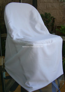 Wholesale Folding Chair Cover White pictures & photos