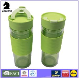Hot Sale High Quality Creativity Plastic Double Wall Mug pictures & photos
