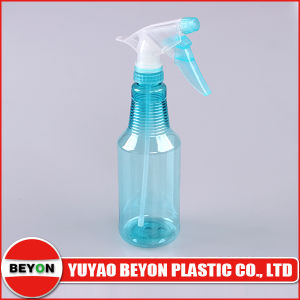 500lm Pet Bottle with Trigger Spray for Hair Dye or Water Flower (ZY01-D113) pictures & photos