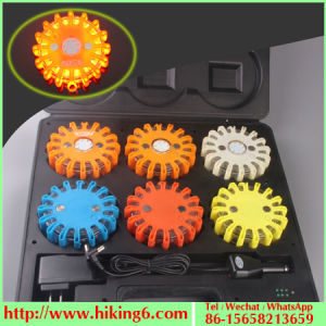 Magnetic Traffice Light, Warn Light, LED Traffic Light 9 in 1 Flare pictures & photos