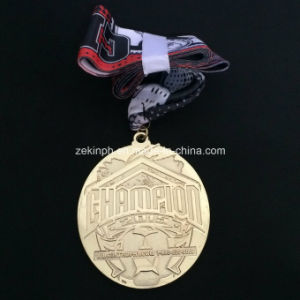 Custom Running Competition Medals with Lanyard for Awards pictures & photos