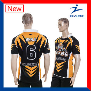 Sublimation Printing Rugby Jersey Shirt Uniform pictures & photos