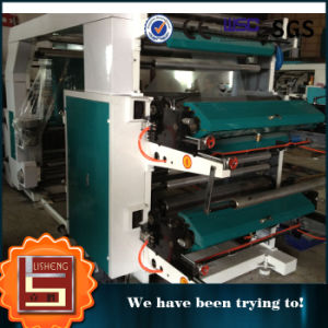 <Lisheng> Ruian Plastic Bag Printing Machine with Ceramic Roller pictures & photos
