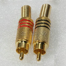 RCA Connector RCA Male Plug (JH-015) pictures & photos