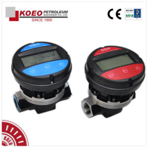 Electronic Oval Gear Fuel Flow Meter