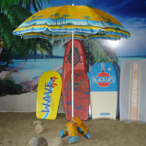 Beach Umbrella with Sand Bag Support pictures & photos