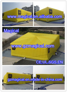 Yellow Inflatable Marquee Cube Tent / Inflatable Marquee Tent (mic-096) pictures & photos