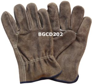 High Quality Leather Driver Work Gloves