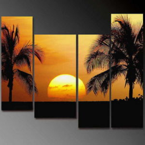 China Framed Modern Landscape Famous Oil Painting for Bedroom ...