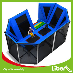 Small Size Indoor Jump Trampoline Park with Safety Approved pictures & photos