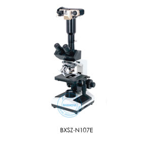Biological Microscope (BXSZ-N107E) pictures & photos