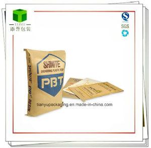 25kg Brown Kraft Paper Bag Packaging Sodium Hexametaphosphate pictures & photos