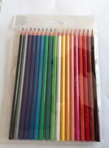 PVC Bag Packing 18 Color Pencil