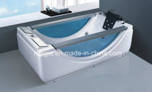 Modern Design Hot Acrylic Massage Bathtub with Bubble Nj-3023 pictures & photos