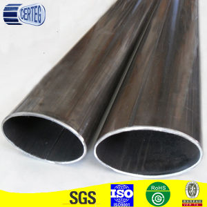 Cold Rolled Black Annealed Mild Steel Welded Oval Pipe for Railings pictures & photos