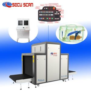 SECUSCAN Cargo X Ray Scanner Machines Supplier Factory AT10080 pictures & photos