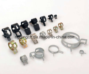 Fuel Line Hose Spring Clip Water Pipe Air Tube Clamps for Cars pictures & photos