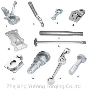 Steel Forging Hot Forging Machinery Part Forged Parts for Rails-Shockproof-Plate 1 pictures & photos