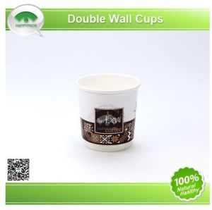 Double Wall Hot Coffee Paper Cups with Custom Logo pictures & photos