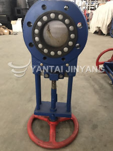 Hydraulic Pneumatic Slurry Knife Gate Valve Dn100 Flow Control Valve