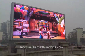 Shenzhen Factory Outdoor DIP Super Bright P10 LED Billboard pictures & photos