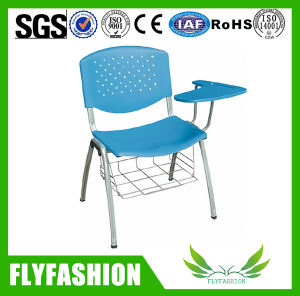 Metal Frame Plastic School Chair with Writing Tablet (SF-19F) pictures & photos