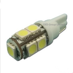 Ba9s T10 T20 9SMD 5050 LED Car Light 6500k 12V T10 Canbus Width Light pictures & photos