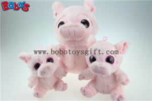 New Design Plush Stuffed Pink Pig Toy with Big Eyes Bos1168 pictures & photos
