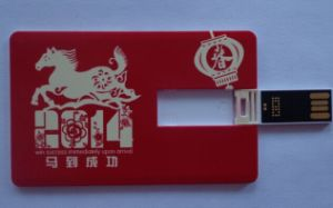 Cheapest USB Card 128MB Credit Card USB Flash pictures & photos