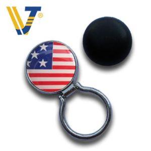 Printing Logo Round Shaped Eyeglass Holder (EY-0005)