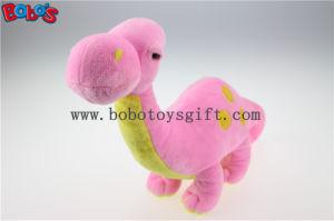 27/34cm Pink Plush Stuffed Dinosaur Animal Cute Stuffed Dinosaur Plush Toybos-1196 pictures & photos