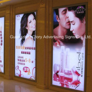 Slim Aluminum Side Open Frames for Picture LED Light Box pictures & photos