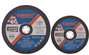 Flat Cut-off Wheels for Metal (230X3.2X22.2mm) Abrasive with MPa Certificates pictures & photos