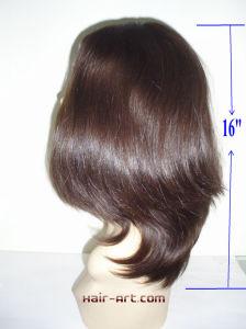 "Top Fashion 100% Virgin European Hair Sheitels Kosher Wigs-16"" pictures & photos"