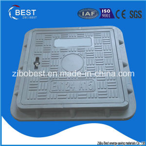 A15 300*300mm FRP GRP Anti Theft Manhole Cover pictures & photos