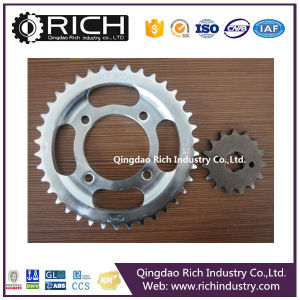 Motorcycle Parts Rolller Chain Sprocket Whosale Low Price/Roller Chain Sprocket/Roller/Wheel Assembly/CNC Machining/Tractor Parts/Alloy Wheel Part pictures & photos