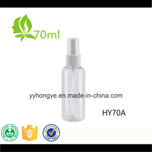 70ml Plastic Pet Bottle with Mist Sprayer pictures & photos