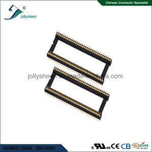 IC Socket 1.778mm Round Pin 180deg Straight DIP Type Without Bar pictures & photos