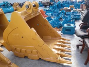 New Cat320d 1.0 Cbm Excavator Parts Heavy Rock Bucket for Sale pictures & photos
