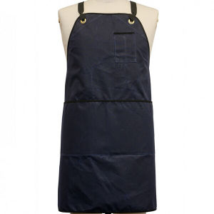 Custom Logo Waxed Canvas Work Apron Cross Back Apron pictures & photos