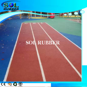 High Quality Sport Rubber Flooring (EPDM Granules) pictures & photos