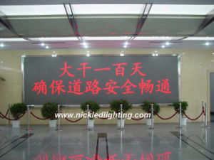 P4.75 Red Color Moving DOT Matrix LED Display Board pictures & photos