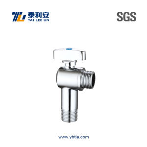 Chrome Plated Brass Wall-Mounted Angle Valve (T1049) pictures & photos