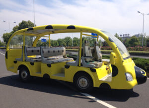 Cheap Electric Sightseeing Car with 23 Seats for Sale (YMJ-T25) pictures & photos