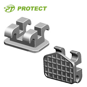 Protect Orthodontic Bracket Metal Bracket Edgewise Bracket
