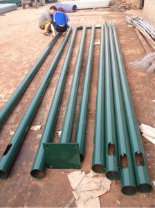 Durable Straight Seam Welding Light Pole pictures & photos