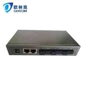 3 Fiber + 2 RJ45 Mini-Fiber Switch (TA723-FE/S25)