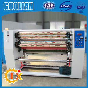 Gl-215 China Factory BOPP Seal Gum Tape Slitting Machine Taiwan pictures & photos